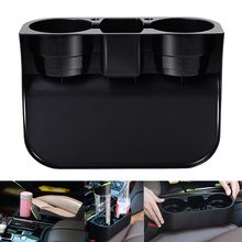 3 in 1 Portable Multifunction Car Auto Cup Holder Vehicle Seat Cup Pen Cell Phone Drinks Holder Car Organizer Storage Box