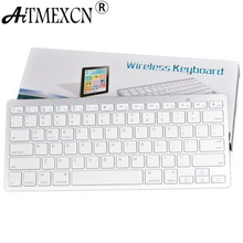 Russian Keyboard 2.4G Wireless Keyboard Mouse Combo Optical 1600Dpi With Keyboard Film Set for PC Laptop Win7/8 Android