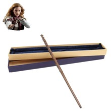 Magic Wand Original Version Quality Metal Core Hermione Granger Magical Stick Gift Box Pack of Harri Potter Newest(China)