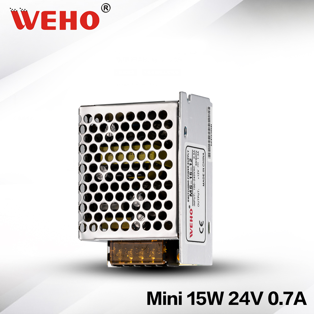 ( MS-15-24) Professional switching power supply 15W 24V manufacturer 15W 24volt cctv power supply(China (Mainland))