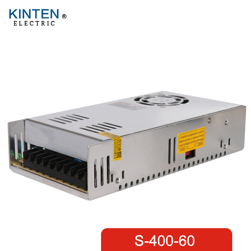 400W 60V 6.7A Single Output Switching power supply AC to DC SMPS CNC<br>