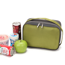 portable oxford insulated handbags food fresh safe small lunch bags picnic box thermal cooler bags multi functional storage bags(China)