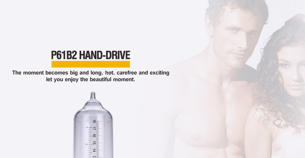 Semo P61B2 Hand-drive Penis Enlarge Pump Manual Operation Vacuum Adult Product for Men Sex Products 5