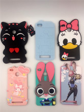 For Xiaomi Redmi 3S 3D Silicon Bunny Kawaii Bow Tie Cat Cartoon Soft Cell Phone Case Cover for Redmi 3 3S 3 S Redmi 3 Pro