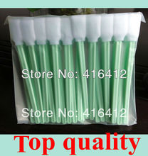 1000 pcs/Lot  Roland Mimaki Mutoh Solvent Printer Print head Foam Cleaning Swabs ( Foam head is much better than cotton swabs )