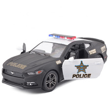New Hot Sale 1:38 Ford 2006 Mustang GT Police Alloy Diecast Model Car Vehicle Toy Collection Gift For Boy Children Toys