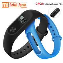 Original Xiaomi Mi Band 2 miband 2 Heart Rate Monitor Fitness Tracker Smart Wristbands Mi Band2 OLED Screen IP67 Waterproof(China)