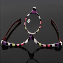 Colorful Readers Magnifying Makeup Glasses Eye Make Up Spectacles Flip Down Lens Folding Cosmetic Womens Reading Glasses
