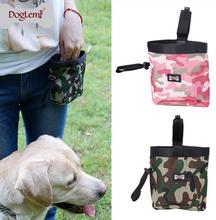Dhl Free 20pcs/lot New Pet Dog Puppy Pouch Walking Food Treat Snack Bag Agility Bait Training Pockets Waist Storage Hold