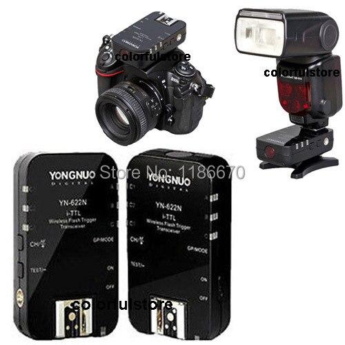 Free Ship YN-622N YN622N YN622 622 N Wireless TTL Flash Trigger for Nikon D7100 D7000 D5000 D5200 D5100 D3100 D3200 D90 D80 D70S<br><br>Aliexpress