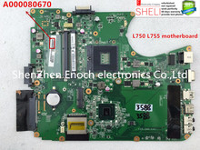 A000080670 for toshiba satellite L750 L755 laptop motherboard DABLBMB16A0  intel HD graphic chip.  SHELI stock No.416