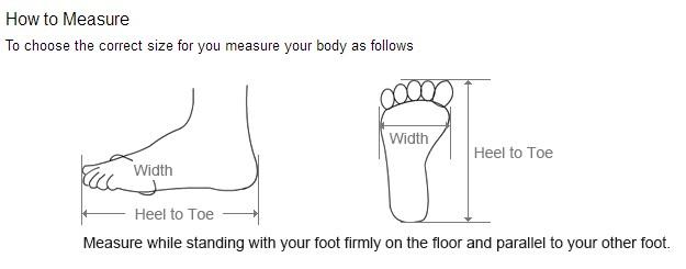 feet size