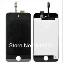 OEM Generation LCD Screen and Digitizer Assembly Display Assembly  for ipod touch 4 - Black