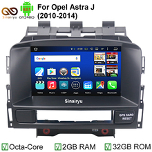 HD 1024*600 Octa Core 2GB RAM Android 6.0.1 Car DVD Player For Verano Vauxhall Opel Astra J Radio GPS Navigation Stereo