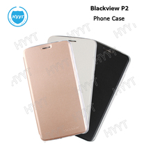 For Blackview P2 P2 lite  Leather Silicone Case Flip Cover Original Cellphone Protective Case For Blackview P2 Phone