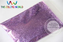 B0802 Lavender Color Glitter powder -0.2MM nail glitter dust dazzling glitter powder,DIY Flash powder(China)