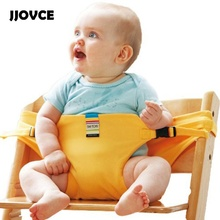 JJOVCE New Portable Safety Stretch Strap Feeding Child Car Safety Seats For Chair Infant Seat Harness Useful Baby Furniture Red(China)