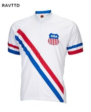 1948 USA Olympics Cycling Jersey Clothing Road Bicycle Cycle Clothes Wear Ropa Ciclismo Racing Bike Cycling Jerseys