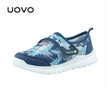 UOVO High Quality Kids Boys Girls Running Sneakers Breathable Air Mesh Fashion Brand Footwear Children Boy Girl Sports Shoes