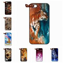 an animal White tiger burning bright Case Cover For Huawei Ascend P6 P7 P8 Lite Mate 8 Sony Xperia Z2 Z3 Z3 Z4 Z5 Compact