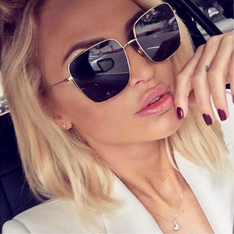 2019 Newest square frame vintage sunglasses Women ...