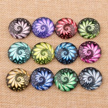 onwear Mix Print Photo Glass Cabochon 12mm 16mm 20mm 25mm 10mm 14mm 18mm Round Flatback DIY Pendants Necklace Accessories