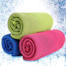 New Magic Coolcore Ice Cold Cool Towel Reuseable Cycling Jogging Hiking Sports Golf Gym Exercise Ice Cold Towel Summer Cooling