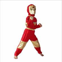 Iron Man Costume Halloween Costume For Kids Anime Cosplay 3-7 Years Boy Disfraces Carnaval Marvel's The Avengers Costume