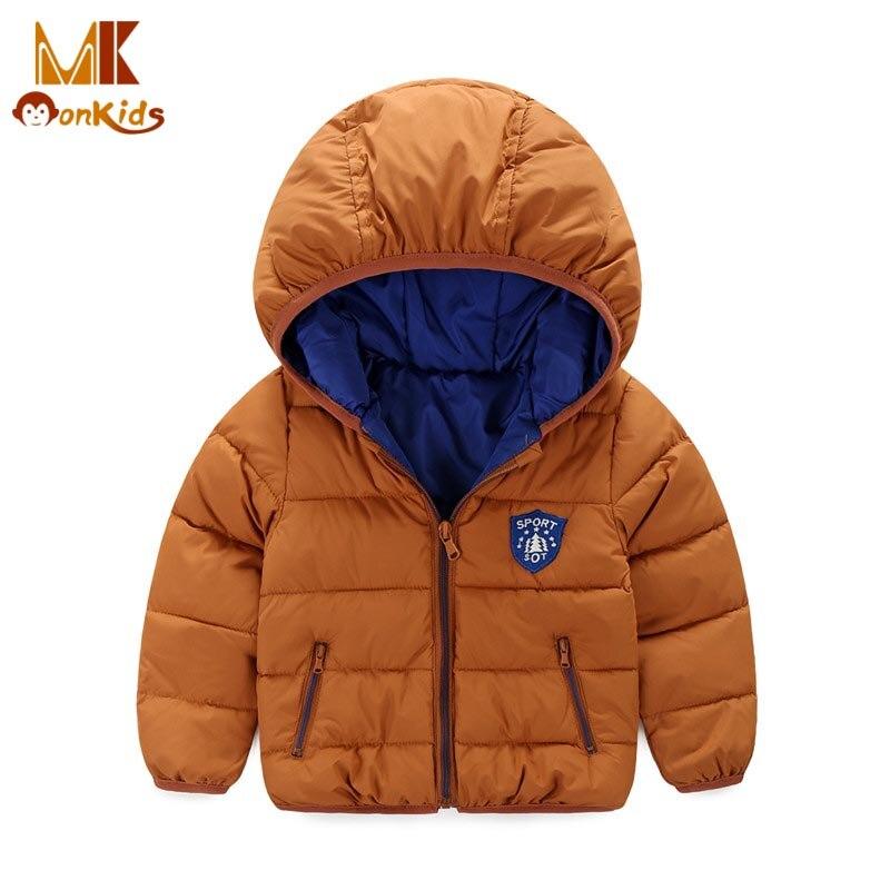 Monkids Boys Winter Jacket Down Jacket for Girls Coat&amp;Jackets for Children Outerwear Children Clothing Parkas Boys Parkas Coat Одежда и ак�е��уары<br><br><br>Aliexpress