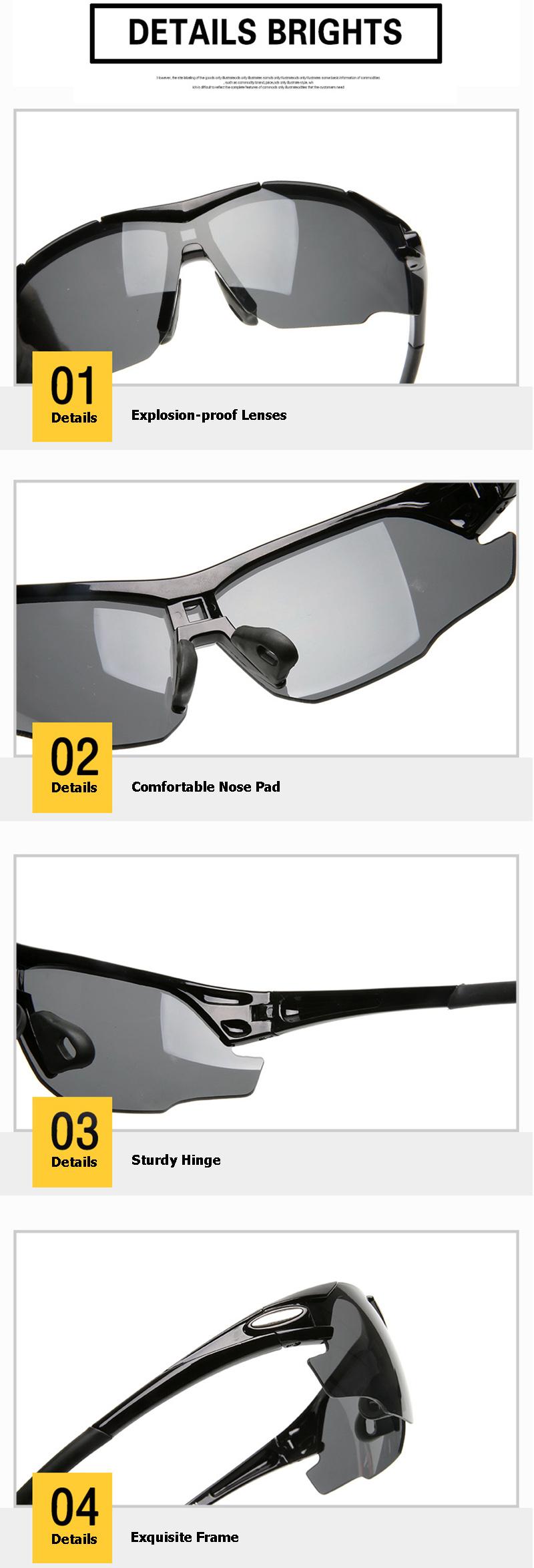 Anti-UV Cycling Men Women Glasses Bike Bicycle Glasses Outdoor Sports MTB Sunglasses Goggles Eyewear Myopia Frame AC0171 (11)