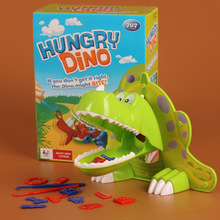 Fun Toys Fun Game Hungry Dino Dinosaur If You Don't Get It Right ,The Dino Might Bite Kids Children(China)