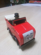 1:64 new style die cast 1 : 64 Diecast model Thomas and friends with hook trainmaster RED CAR