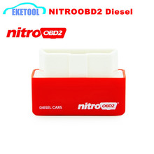 Excellent Quality NitroOBD2 Red For Diesel Cars Auto Chip Tuning Box NITRO OBD2 Performance Box Plug&Driver More Power/Torque