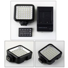 W36 36 LED Video Light Camera Lamp Light Photo Lighting For Cannon/For Nikon/For Sony/For Panasonic Camera Or Camcorder(China)