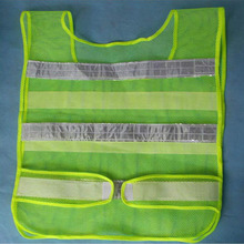 Hot selling Reflective Vest High Visibility Reflective Fluorescent traffic Safety Clothing Sanitation Workers 3 Colors(China)