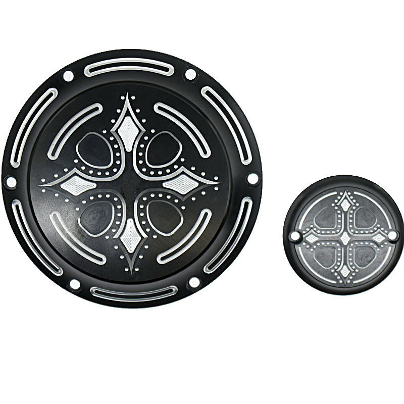 Motorcycle CNC Engine Derby Timer and Timing Cover For Harley Davidson Sportster XL883 XL1200 XL883N XL1200C 48 72 Accessories<br>