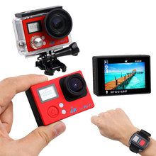 NEW slim Action Camera 4K WiFi Ultra HD Waterproof Sport Camera 2 Inch LCD Screen 16MP 170   Degree Wide Angle