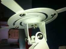 Perfect !! Free shipping, short throw projector arm mount,fix projector ceiling mount,bracket