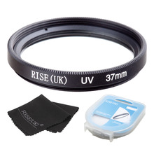 37/39/40.5/46/49/52mm Ultra-Violet UV lens Filter Protector+case+gift for Nikon Canon Sony Pentax Sigma OM - Free Shipping(China)