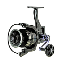 COONOR Fishing Reel Carp Fishing Spinning Reel 11+1 Ball Bearings 4:7:1 Pesca Fish Bait for Dual Brake Right/Left Hand Aluminum
