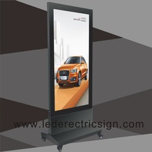 Aluminium led Poster Stand Frame for Light Box advertising light