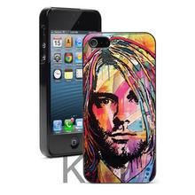2016 new Nirvana Kurt Cobain art Design Tpu Nero cell phone bags case cover for iphone 4S 5S 5C SE 6S 7 PLUS IPOD Samsung SONY