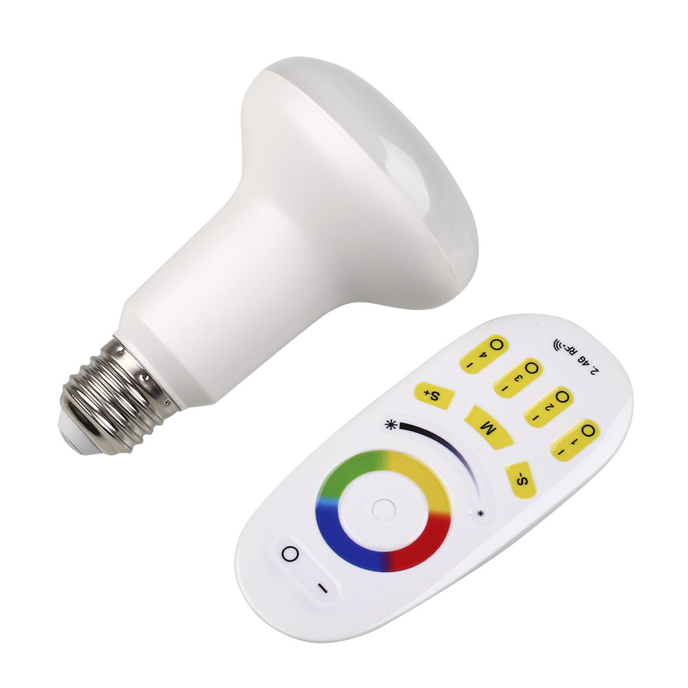 9W E27 G2.4 RGBW RGB LED Bulbs With Touch Controllers Bedroom Lights Lamp<br><br>Aliexpress