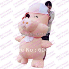 Fancytrader 150 cm 59 inches!! JUMBO Super Giant Plush Stuffed McDull Pig Free Shipping Birthday Gift & Valentine Gift FT90077