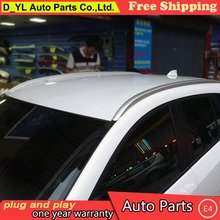 D_YL car styling for Mazda CX-5 CX-7 Roof Racks Side Rails Bars Luggage Carrier Baggage Holder Aluminum Alloy Auot Accessories