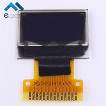 "White 0.49 inch OLED Display Module 64x32 0.49"" Screen IIC for Arduino AVR STM32"