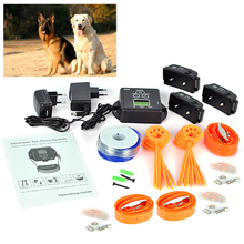 Rechargeable For 3 Dogs Professional Dog Training Collar Device Electronic Pet Fence System Controller For Pet safe Yard Garden
