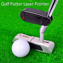 Black Golf Putter Laser Pointer Putting Training Aim Line Corrector Improve Aid Tool Practice Golf Accessories(China)