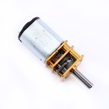 Miniature Electric Reduction Gear Motor Metal Gearbox for RC robot model Toy 12GA DC 6V 300RPM
