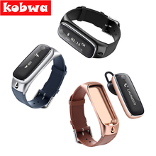 Talk band Smart Bracelet Bluetooth Headset Earphone smart band Fitness Tracker for ios android Mobile Phone Device Wristbands